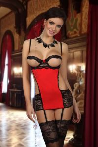 Beauty Night Angelina chemise red