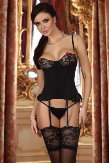 Beauty Night Shirley corset black