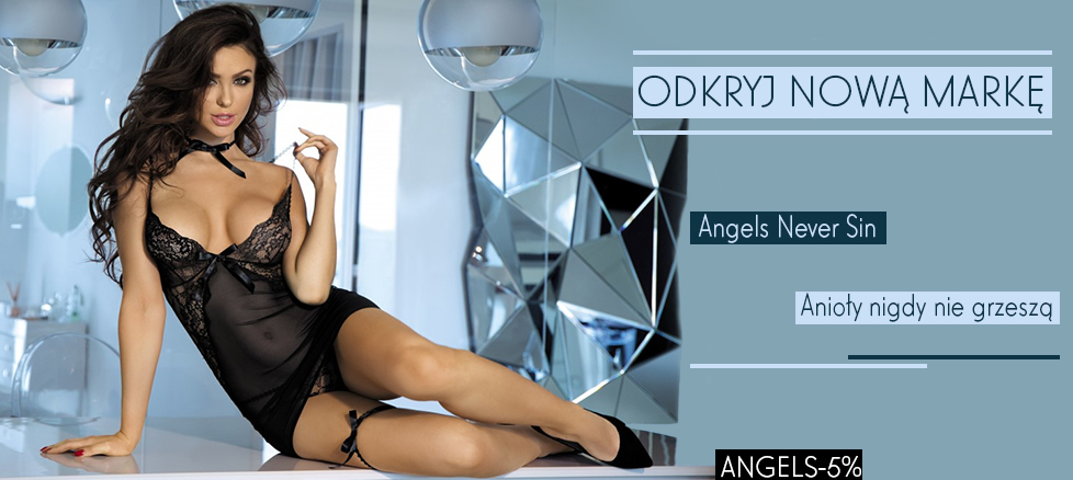 Promocja Angels Never Sin 5%