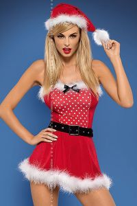 Obsessive Mrs Claus Dress