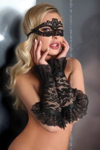 Livia Corsetti Gloves Black Model 13 LC 28011