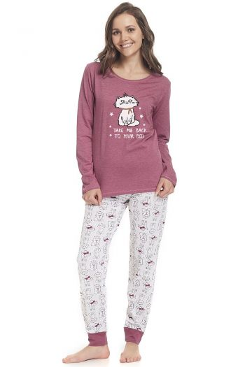 piżama Dn-nightwear PM.9338