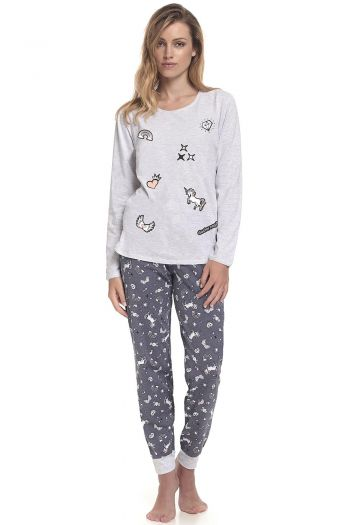 piżama Dn-nightwear PM.9346