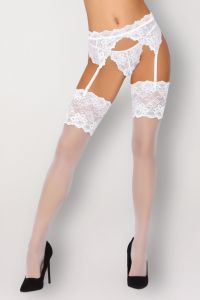 Livia Corsetti Marijsen White LC 90423 Misteelina Collection