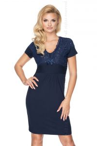 Irall Gia Navy Blue Quenn Size