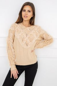 Sweter Nicola Lace Carmel G2559