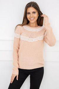 Sweter Mona Light Coral Y5202
