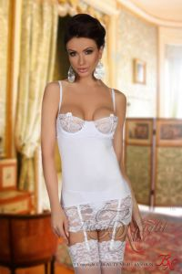 Beauty Night Shirley chemise white